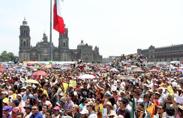 Manifestaciones en EEUU en apoyo a AMLO
