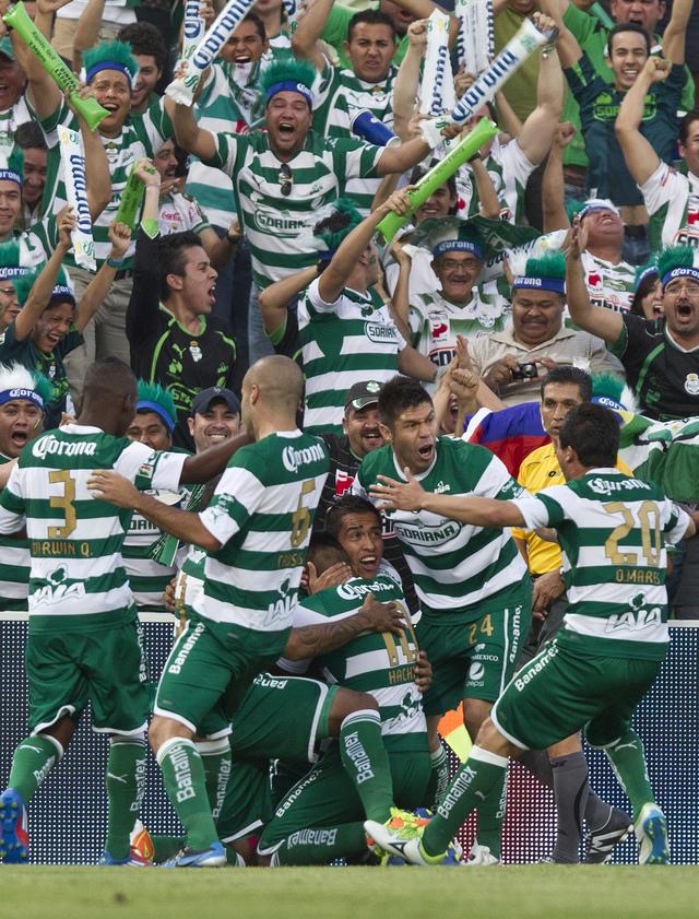 Santos Laguna el nuevo campeón