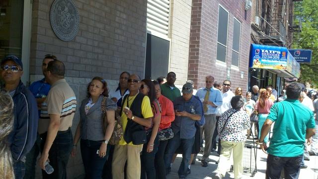 Votaron masivamente en NY