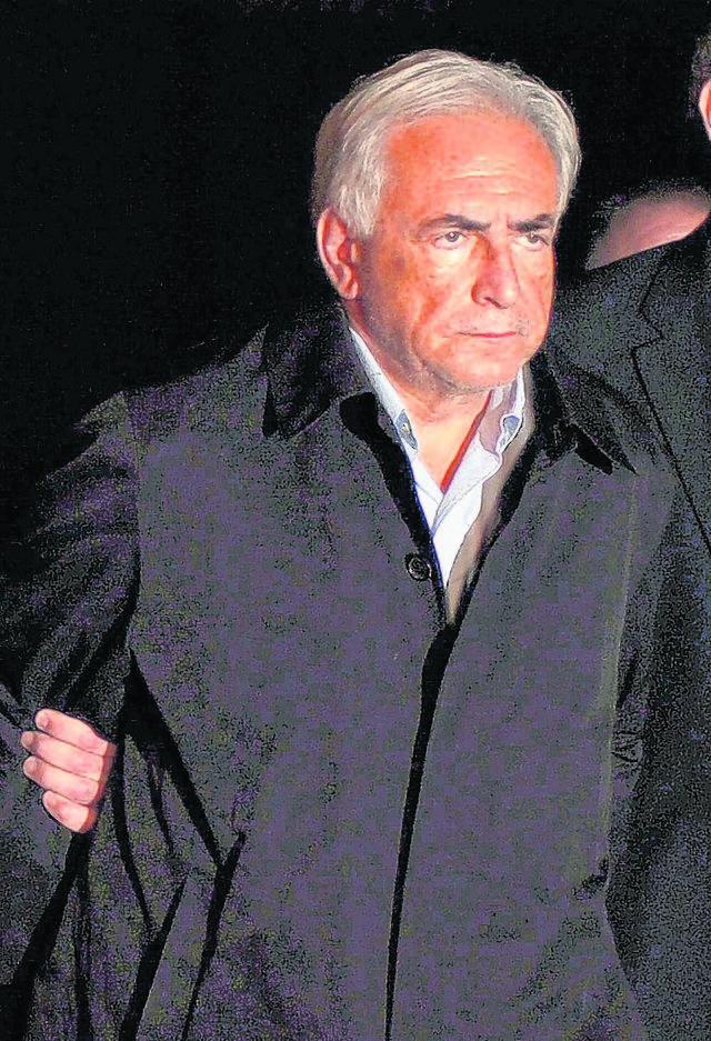 DSK vinculado  en otro caso de violación