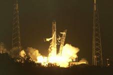 Lanzan primera cápsula espacial privada
