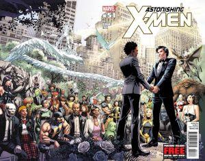 Marvel casa a superhéroe Northstar con su novio