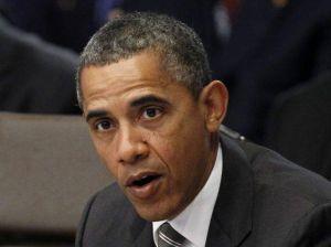 Obama en el teatro Fox de Redwood City