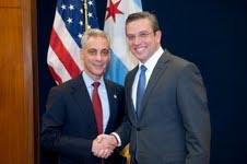 Aspirante a gobernador de P.R. busca luz en Chicago