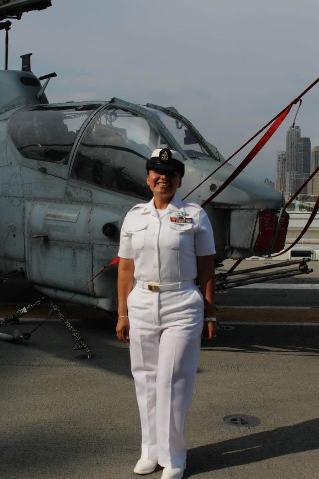 Ecuatoriana entre las mejores de la Marina de EE.UU.