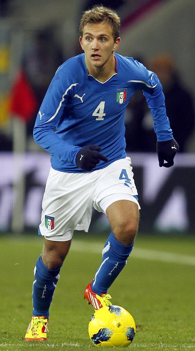 Domenico Criscito salió de la convocatoria del combinado italiano