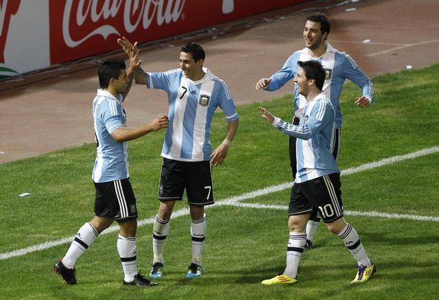 Messi lidera el ataque 'gaucho'