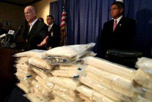 Decomisan cocaína con valor de 135 mdd