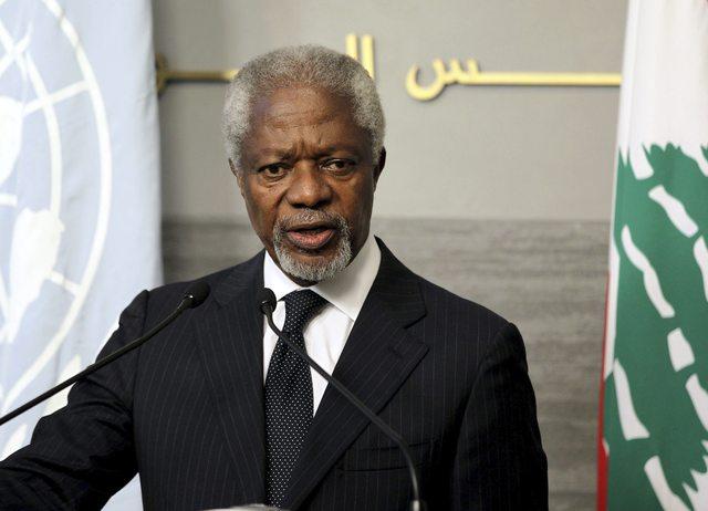 Murió ex Secretario de la ONU y Premio Nobel Kofi Annan