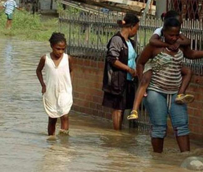 Lluvias causan estragos  en Colombia