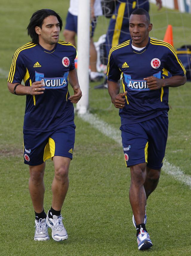 Radamel Falcao es la esperanza de gol de Colombia en estas eliminatorias.