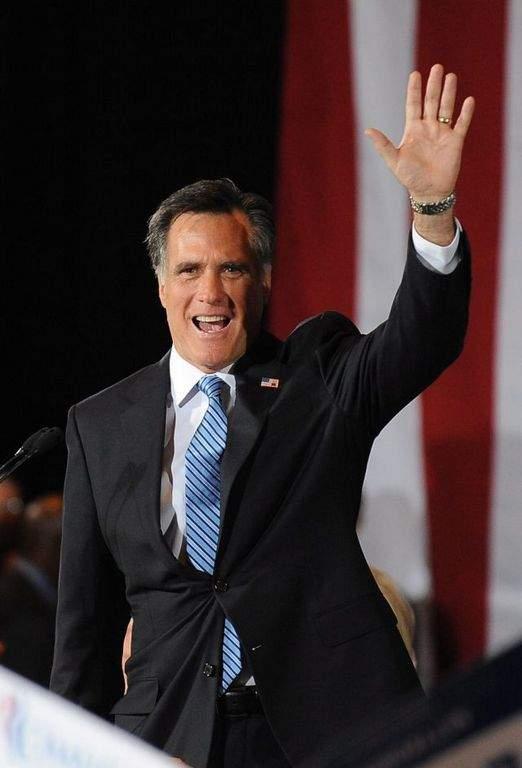 El virtual candidato presidencial del Partido Republicano, Mitt Romney.
