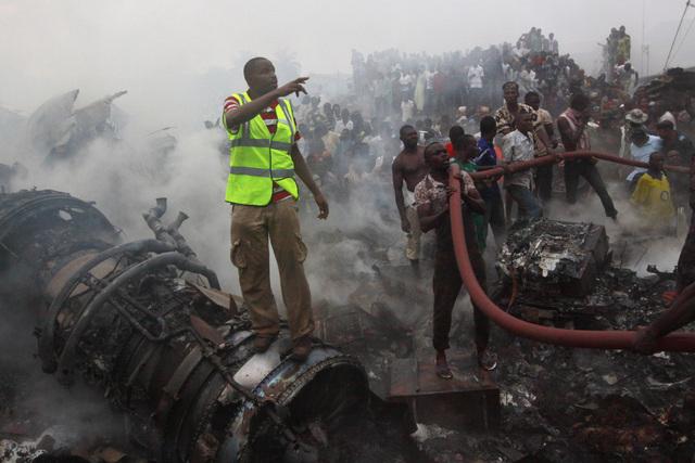 Tragedia  áerea en Nigeria