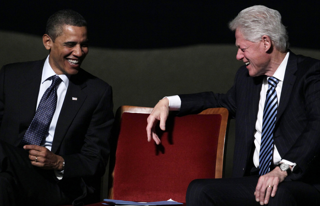 Obama y Bill Clinton calientan NY