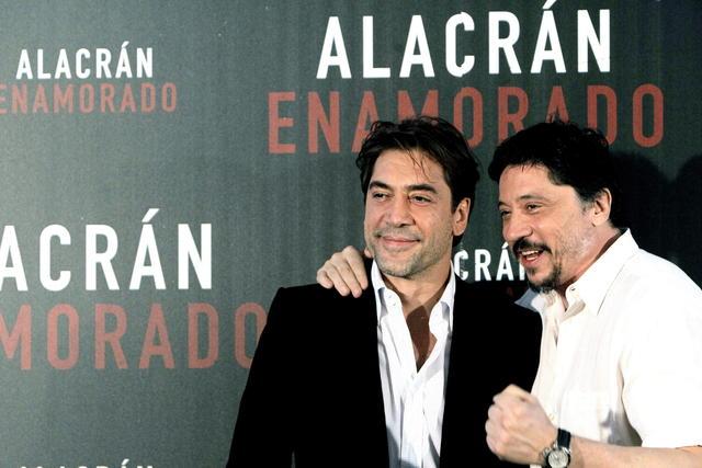 Bardem dice no haberse ido del cine español