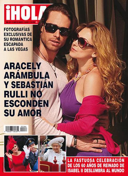 Aracely Arámbula y Sebastián Rulli publican su amor