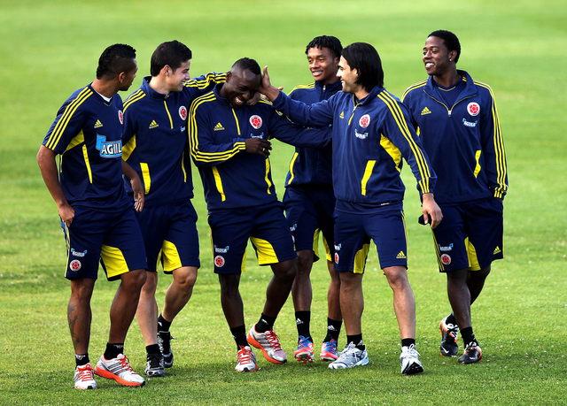 Colombia sólo piensa en ganar