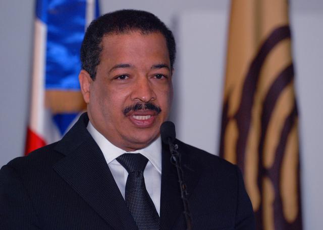 Roberto Rosario, presidente de la JCE quien hizo la grave denuncia.