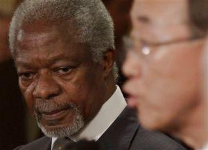 Kofi Annan quiere incluir a Irán en caso Siria