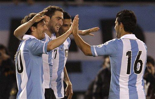 Argentina viene de arrollar a Ecuador demostrando que tiene dinamita pura adelante.