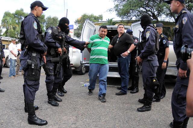 Marvin Gómez, uno de los detenidos.