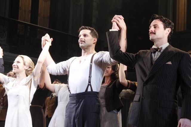 La presencia latina en los Tony se concentra en 'Evita', protagonizado por el puertorriqueño Ricky Martin y la argentina Elena Roger.