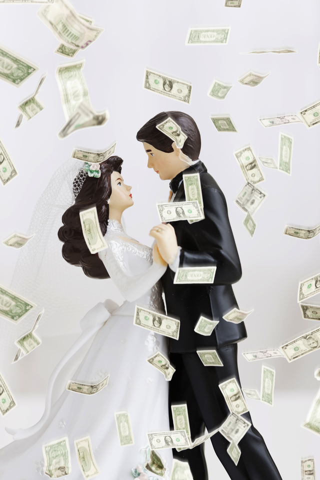 Que el dinero no sea motivo para no celebrar su matrimonio en grande.