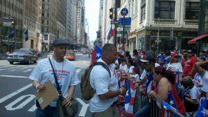 Desfila la política en la Parada Nacional Puertorriqueña