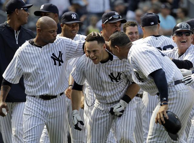 Yankees barren la serie de tres juegos