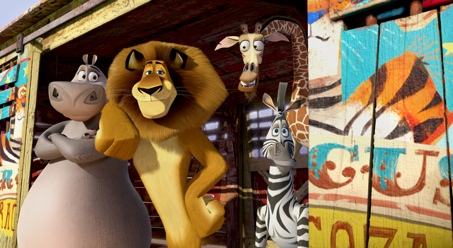 'Madagascar 3' y 'Prometheus' primeras