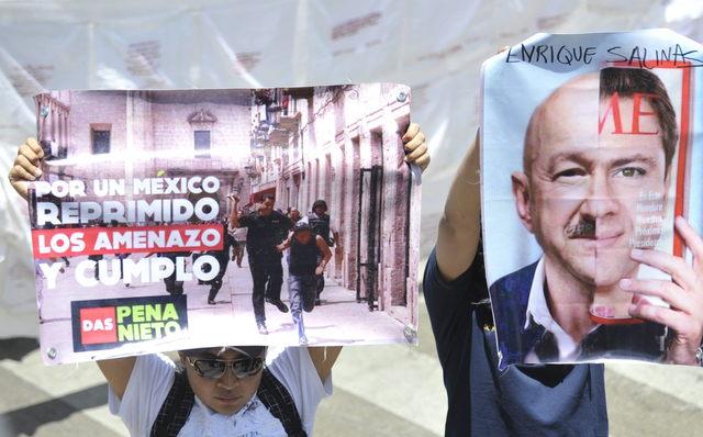Miles marchan contra Peña Nieto