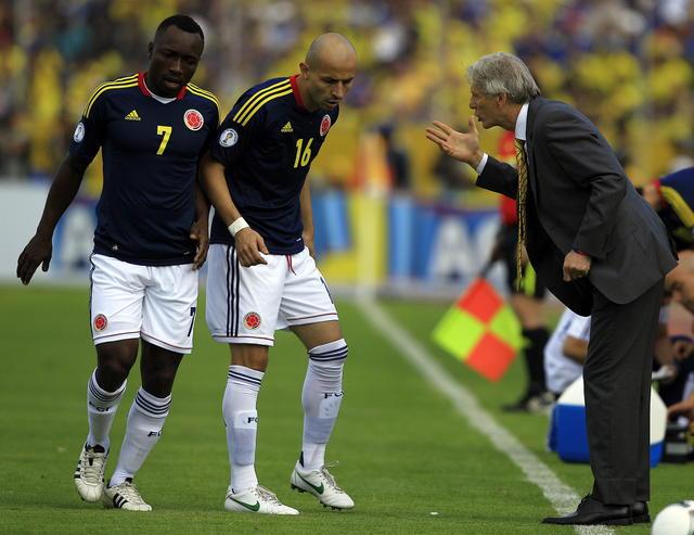 'Pacho' decepcionado con Colombia