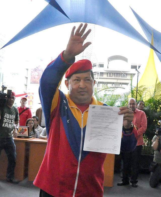 Chávez está 'calentando motores'
