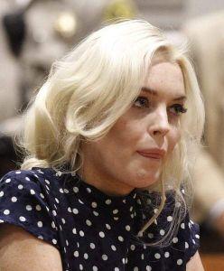 Lindsay Lohan, agotada y deshidratada