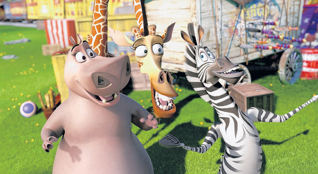 'Madagascar 3' encabeza la taquilla