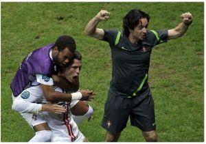 Ronaldo coloca a Portugal en semifinales