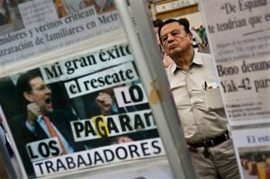 España solicitará ayuda para rescate bancario