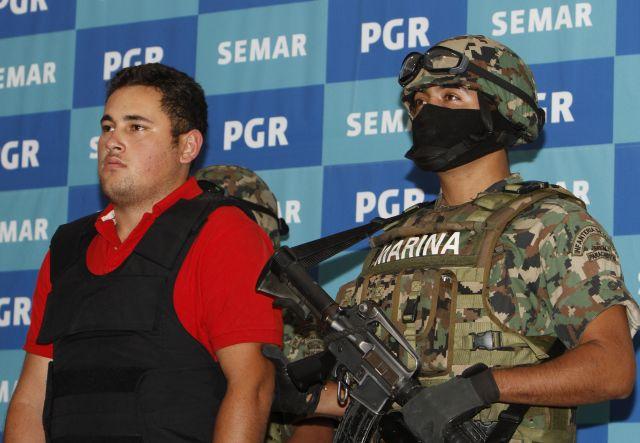 Detienen a un hijo del 'Chapo' Guzmán