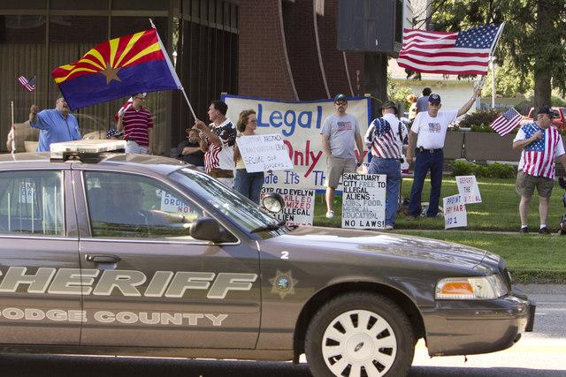 Estancada en tribunal ley antiinmigrante