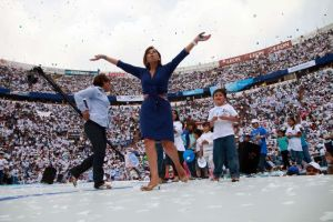 Vázquez Mota dice que 6 puntos la separan de Peña Nieto