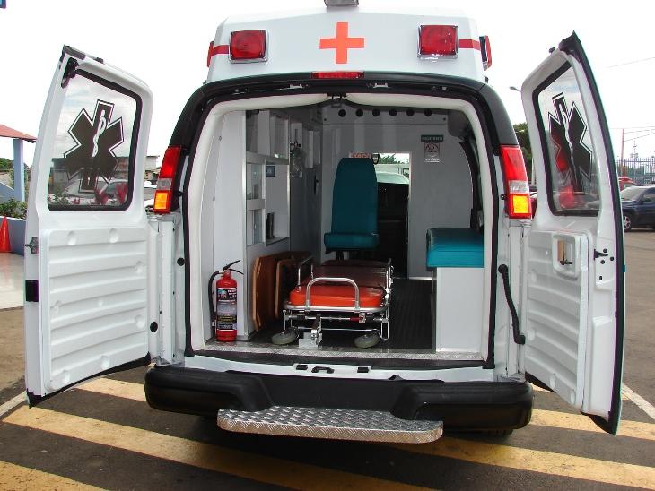 Ambulancia llena de cocaína