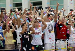 Miami prende la rumba para recibir a los Heat (Fotos)