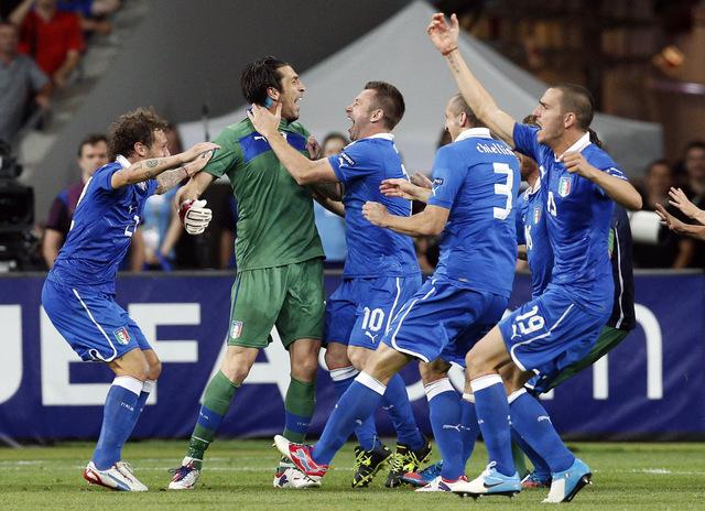 Italia  justo ganador está en semifinales