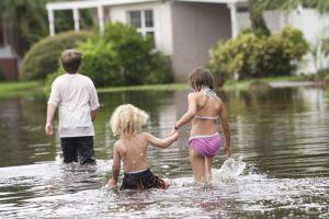 Florida bajo la  lluvia de 'Debby'