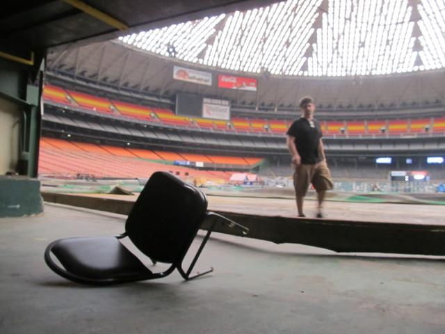 Comisionados no toman decisión sobre el Astrodome