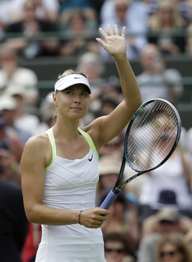 Sharapova y Serena Williams le salen al paso a un 'machista'