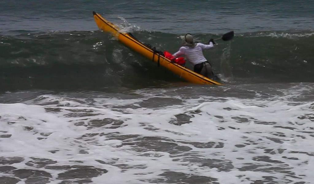Naufraga 'Tito Kayak' en Bequia
