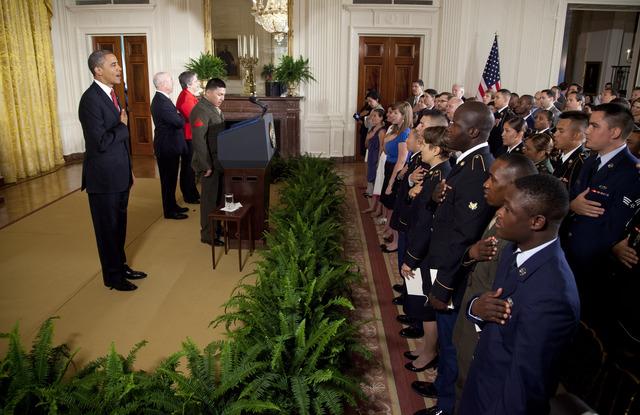 Obama celebra una 'nación de inmigrantes'