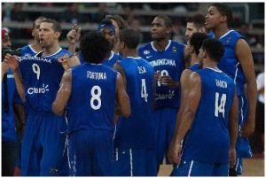 Dominicana continúa en preolímpico de baloncesto