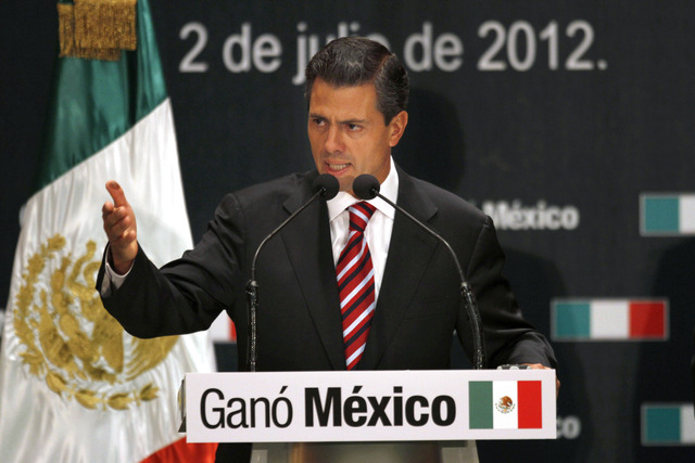 Cómputo final da victoria a Peña Nieto